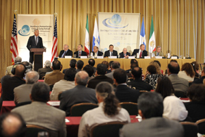 Senior Panel Denounces Ahmadinejad's Visit to the United States, Urges the U.S. to Stand with the Iranian Opposition