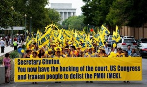 State Department Rally to Demand MEK Delisting