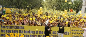 US Rally Calls for Protection of Iranian dissidents