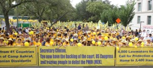 State Department Rally Draws Thousands Calling for MEK Delisting