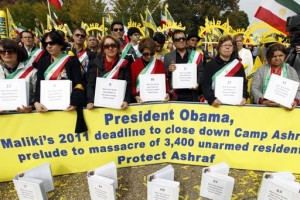 Hundreds Rally For Iranian Opposition