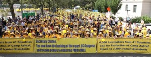 Thousands of Iranians Rally in Washington, Urge delisting of MEK