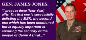 James Jones Calls for Delisting of MEK