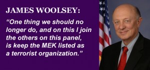 James Woolsey Calls for Delisting of MEK