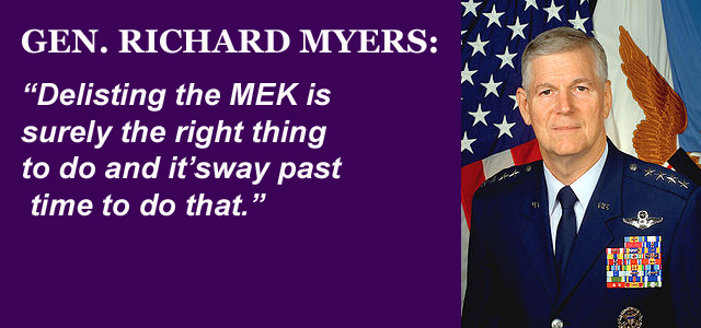 Richard Myers Calls for Delisting of MEK
