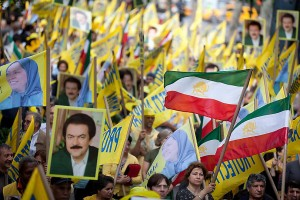 Protesters rally against Iranian leader outside UN