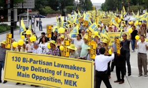 Rally Draws Thousands to DC Calling for MEK Delisting